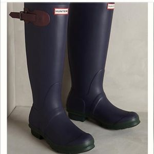 Hunter limited edition contrast tall boots
